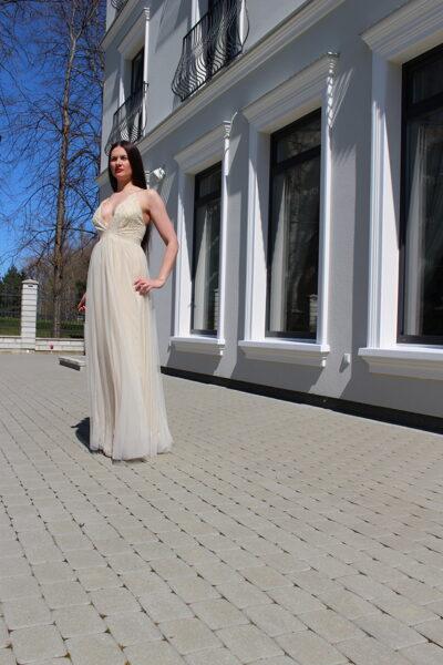 Žėrinti proginė suknelė