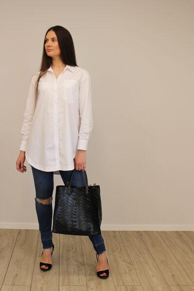 Balti klasikiniai marškiniai