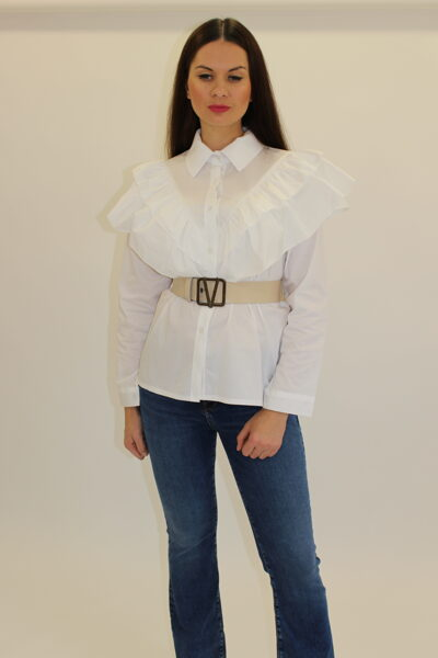 Balti laisvi marškiniai